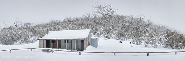 Winter Refuge, Bluff Hut, Alpine National Park, Victoria, Australia