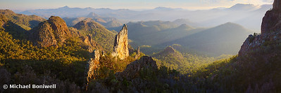 Bread Knife Dawn, Warrumbungles, New South Wales, Australia