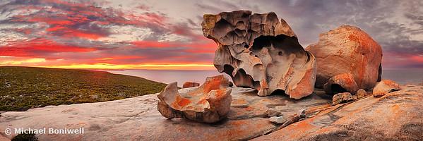 Remarkable Rocks Awakens, Kangaroo Island, South Australia