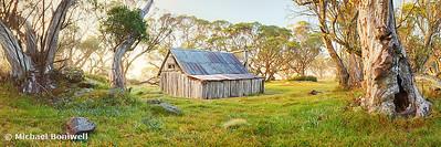 Wallace Hut Dawn, Falls Creek, Victoria, Australia