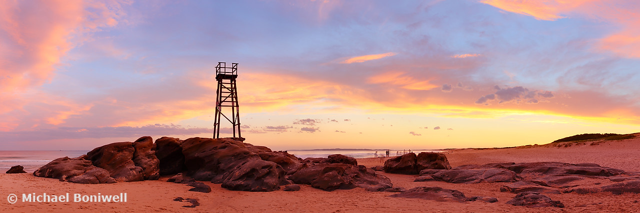 Redhead Beach Sunset, Newcastle, New South Wales, Australia
