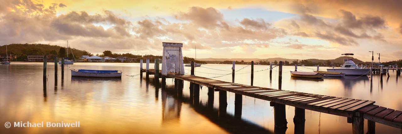 Davistown Jetty, New South Wales, Australia
