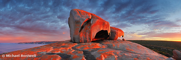Remarkable Rocks Sunrise, Kangaroo Island, South Australia