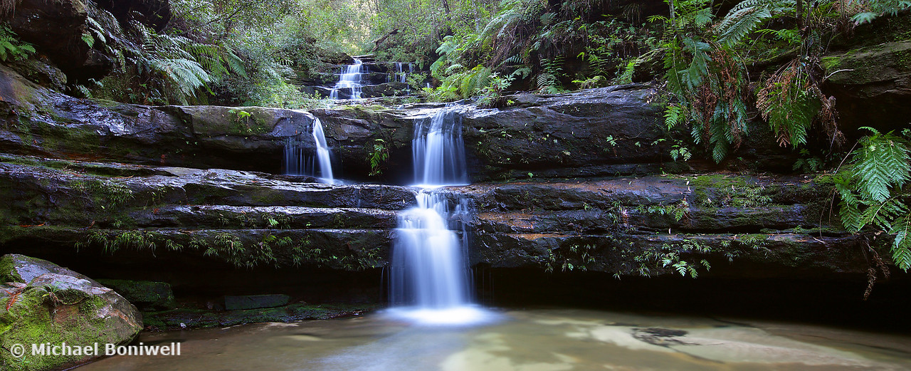 Terrance Falls, Blue Mountains, New South Wales, Australia