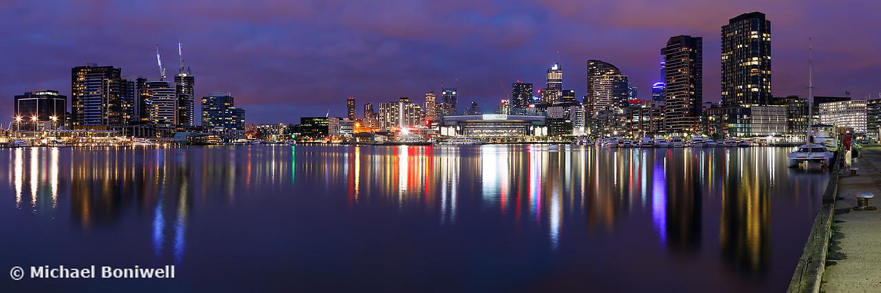 Docklands Twilight, Melbourne, Victoria, Australia