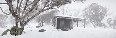 Pretty Valley Hut, Falls Creek, Victoria, Australia