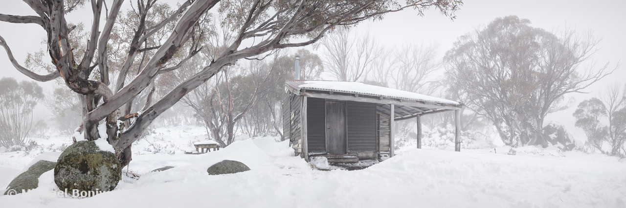 Pretty Valley Hut, Falls Creek, Victoria, Australia