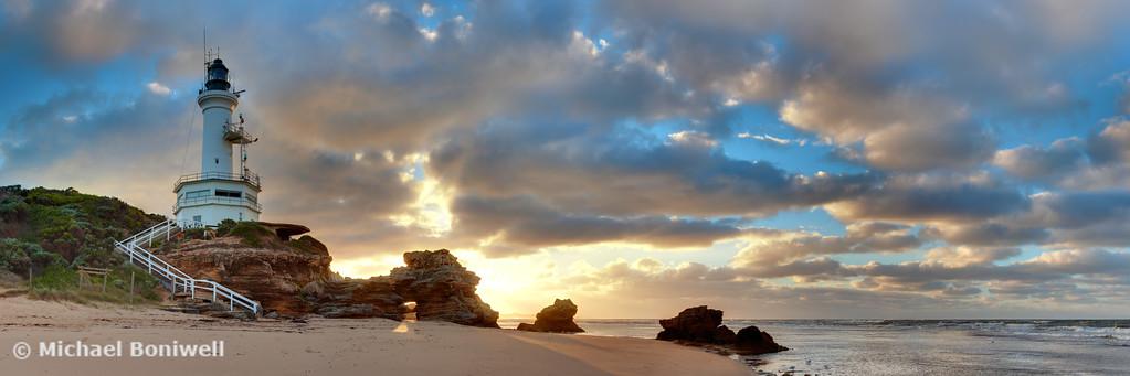 Point Lonsdale Lighthouse Awakens, Victoria, Australia