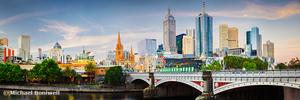 Princes Bridge, Melbourne, Victoria, Australia