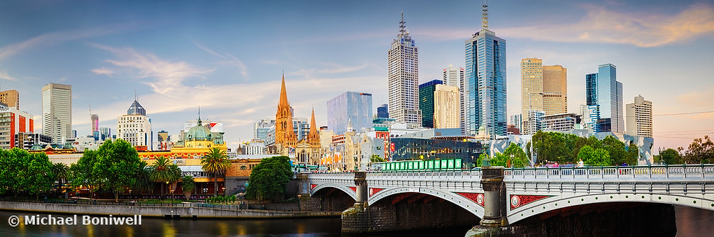 Princes Bridge, Melbourne, Victoria, Australia