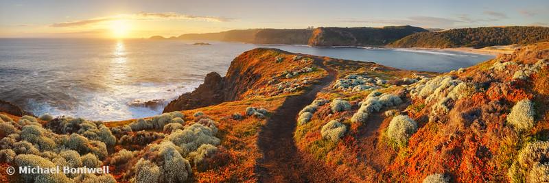 Bushrangers Bay Sunset, Mornington Peninsula, Victoria, Australia