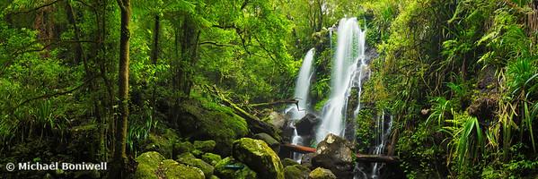 Chalahn Falls, Lamington National Park, Queesland, Australia