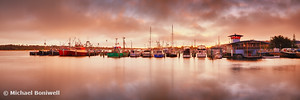 Sunset Docks, Lakes Entrance, Victoria, Australia