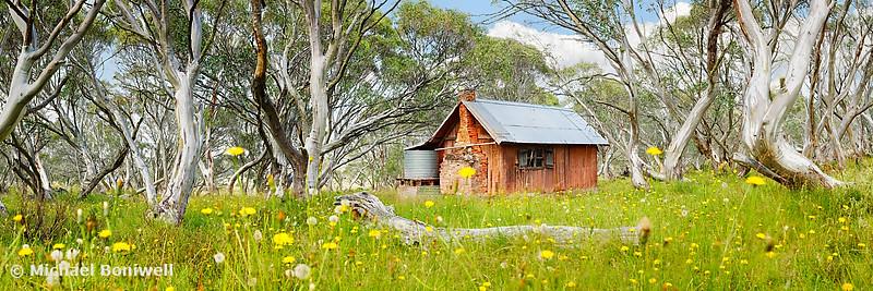 JB Plain Hut, Mt Hotham, Victoria, Australia