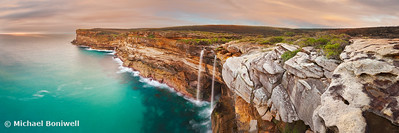 Curracurrong Falls, Eagle Rock, Royal National Park, New South Wales, Australia