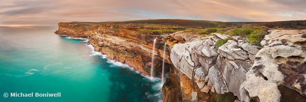 Curracurrong Falls, Eagle Rock, Royal National Park, New South Wales, Australia