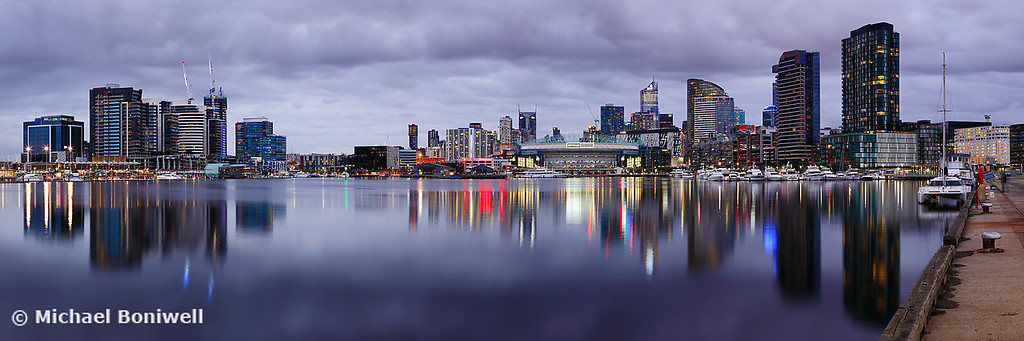 Docklands Evening, Melbourne, Victoria, Australia