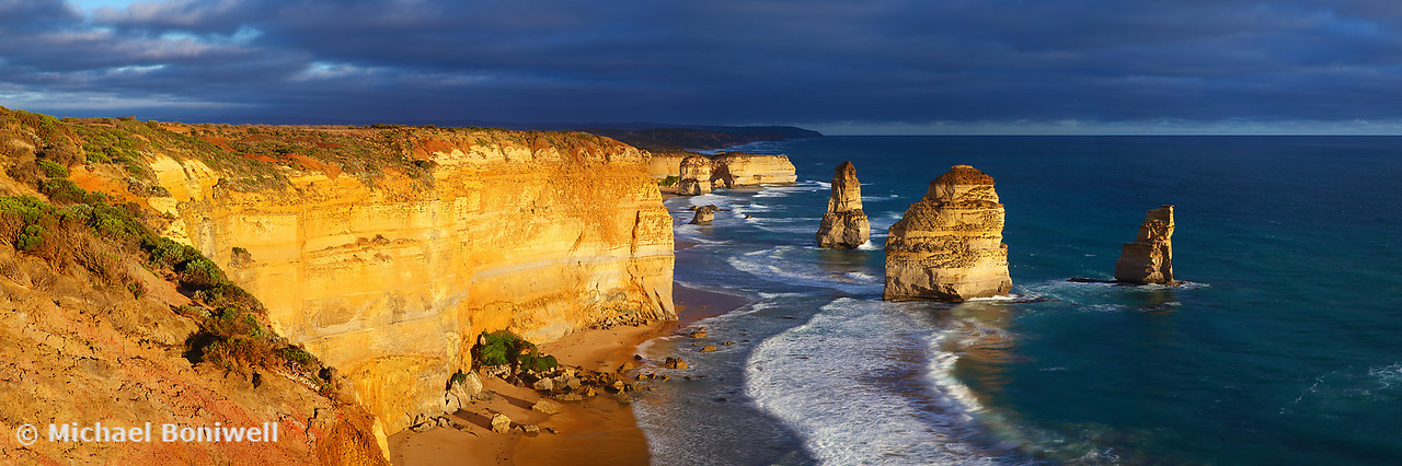 Dramatic Light over the Twelve Apostles, Victoria, Australia