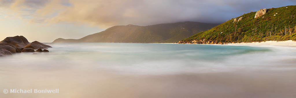 Dawn greets Little Waterloo Bay, Wilsons Promontory, Victoria, Australia