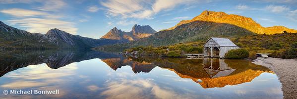 Dove Lake Boat Shed, Cradle Mountain, Tasmania, Australia