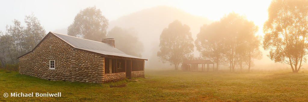 Geehi Hut Dawn, Kosciuszko National Park, New South Wales, Australia