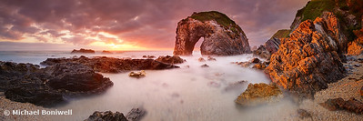 Horse Head Rock Dawn, Bermagui, New South Wales, Australia
