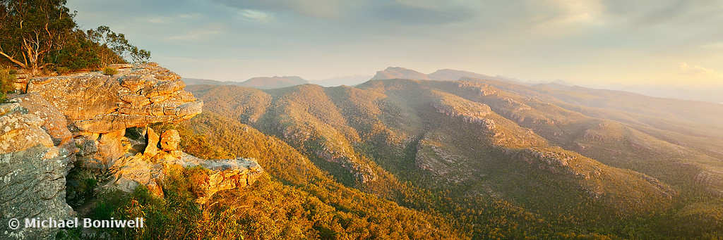 Balconies Sunset, Grampians National Park, Victoria, Australia
