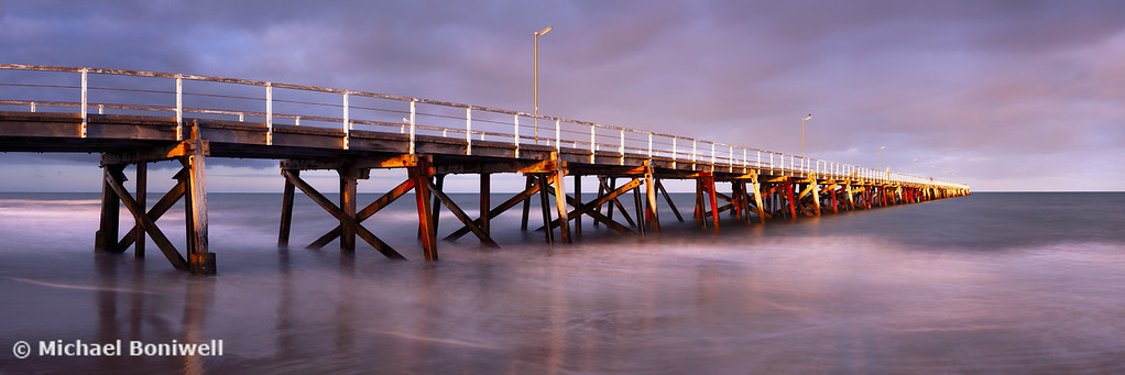 Semaphore Beach Pier, Adelaide, South Australia