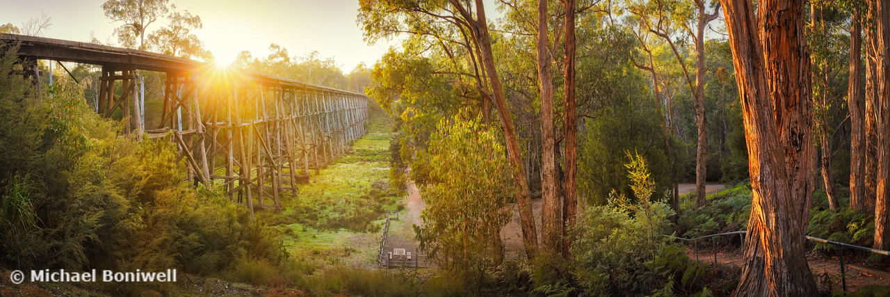Stony Creek Trestle Bridge, Lakes Entrance, Victoria, Australia