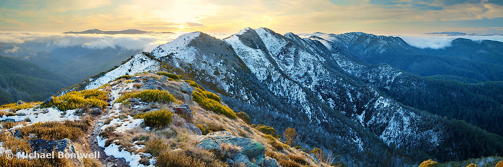 Cross Cut Saw, Mt Howitt, Alpine National Park, Victoria, Australia