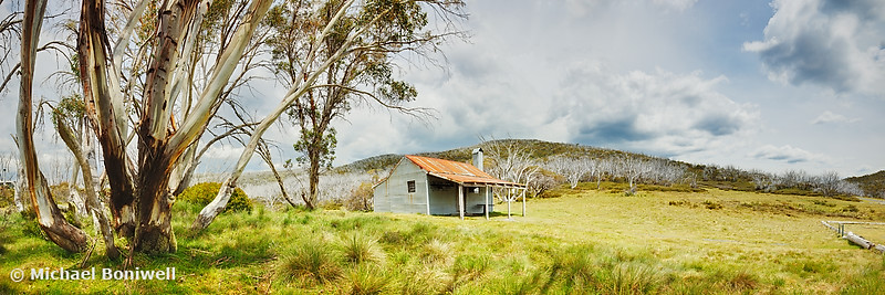 Bradleys & O'Briens Hut, Kosciuszko, New South Wales, Australia