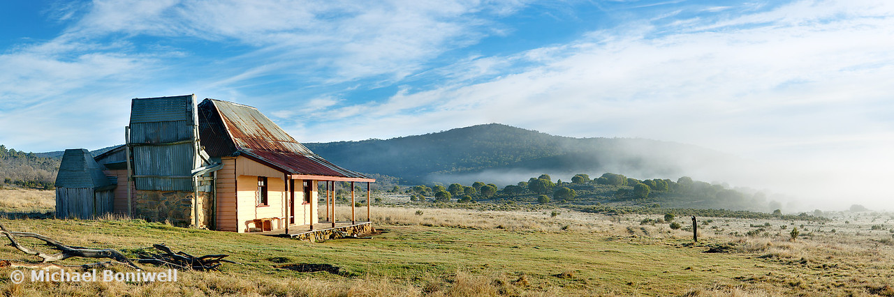Old Currango Hut, Kosciuszko National Park, New South Wales, Australia