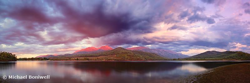 Lake Buffalo Twilight, Victoria, Australia