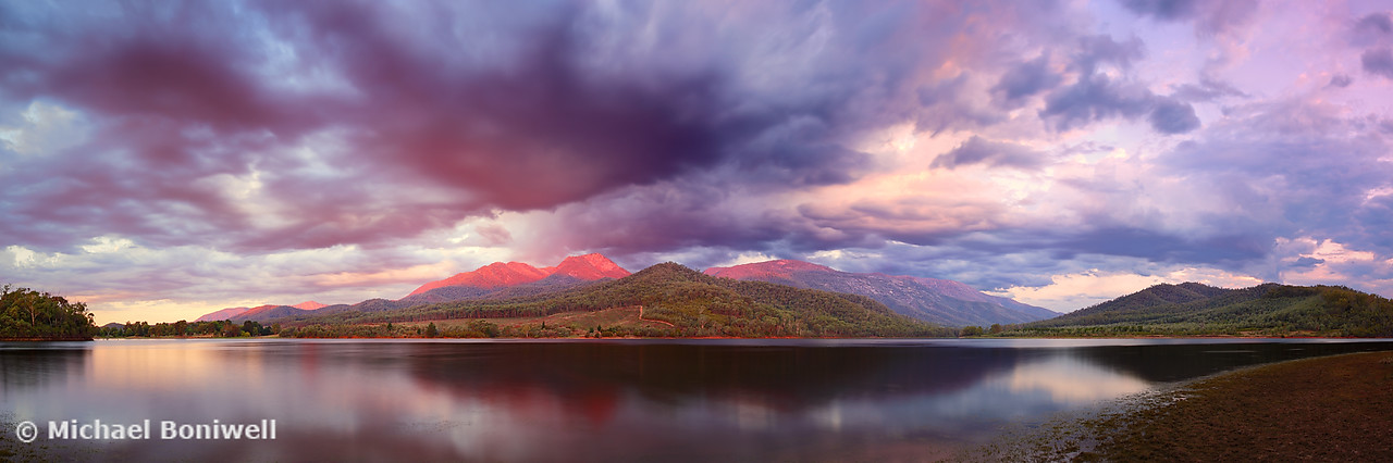 Lake Buffalo Twilight, Victoria, Australia
