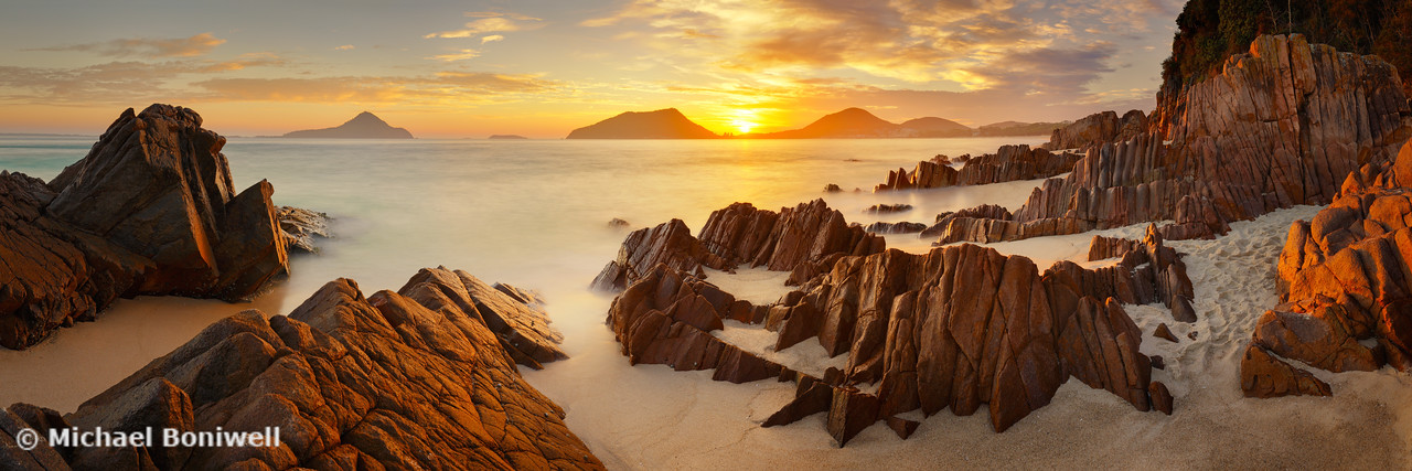 Shoal Bay Sunrise, New South Wales, Australia