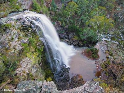 Little River Falls, Snowy River National Park, Buchan, Victoria, Australia