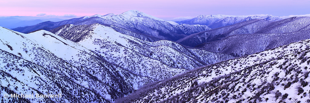 Mt Feathertop Twilight, Victoria, Australia