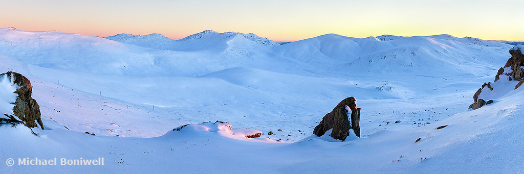 Kosciuszko Main Range, New South Wales, Australia