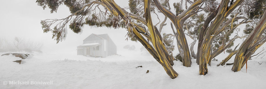 Blowhard Hut, Mt Hotham, Victoria, Australia