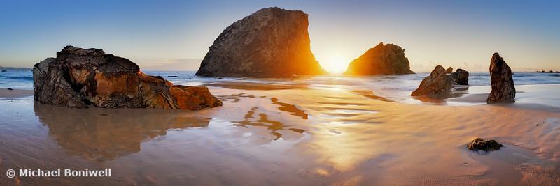 Glasshouse Rocks Sunrise, Narooma, New South Wales, Australia