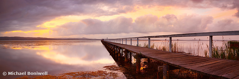 Long Jetty Sunset, New South Wales, Australia