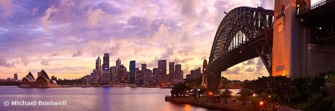 Sydney Twilight, New South Wales, Australia