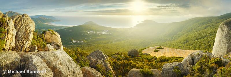 Mount Bishop, Wilsons Promontory, Victoria, Australia