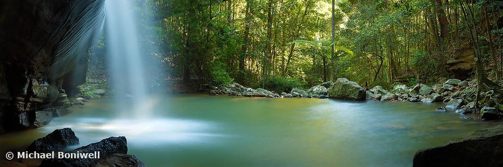 Buderim Falls, Sunshine Coast, Queensland, Australia