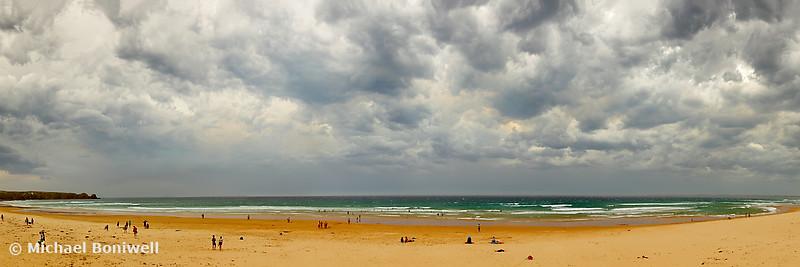 Stormy Cape Woolamai Beach, Phillip Island, Victoria, Australia