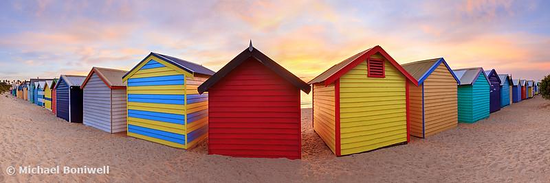 Brighton Beach Boxes, Melbourne, Victoria, Australia
