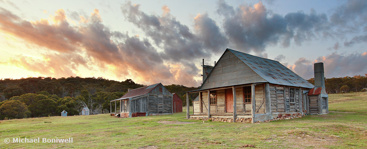 Coolamine Homestead, Kosciuszko National Park, New South Wales, Australia