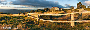 Craigs Hut Autumn Sunset, Victoria, Australia