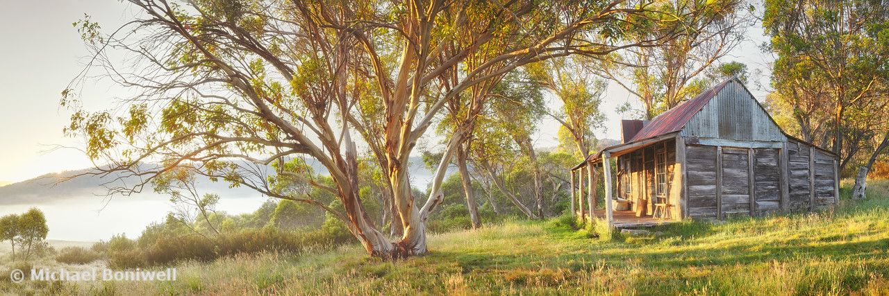 Wheelers Hut, Jagungal Wilderness, Kosciuszko, New South Wales, Australia