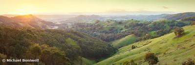 Valley of a Thousand Hills, Murchison Gap, Victoria, Australia